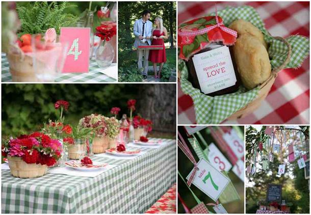 Picnic Wedding Or Party Ideas