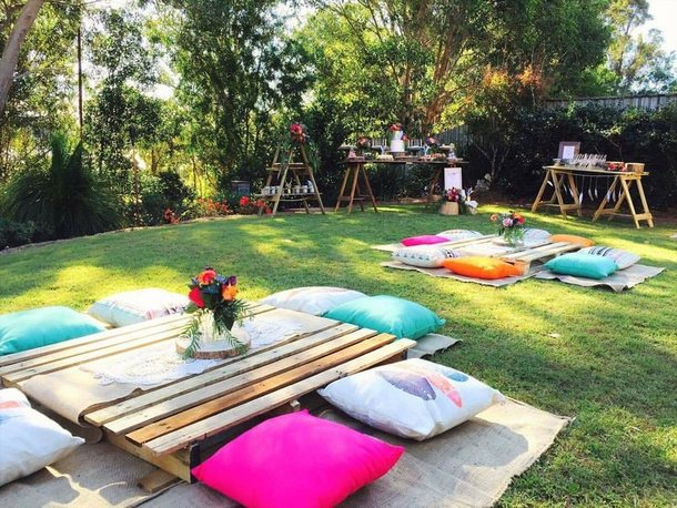 Picnic setup ideas