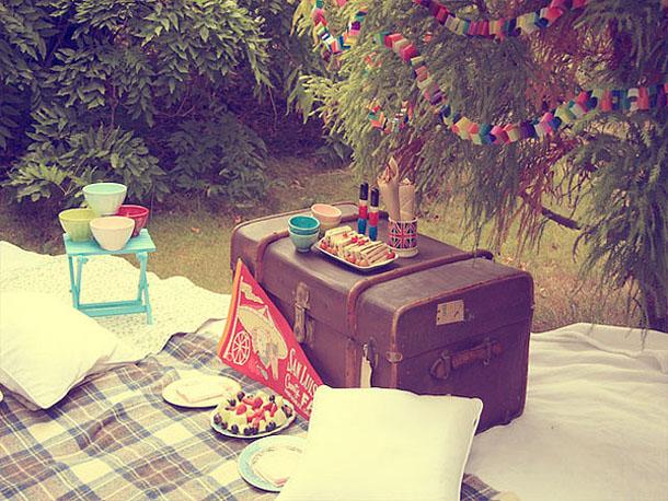 Vintage picnic ideas
