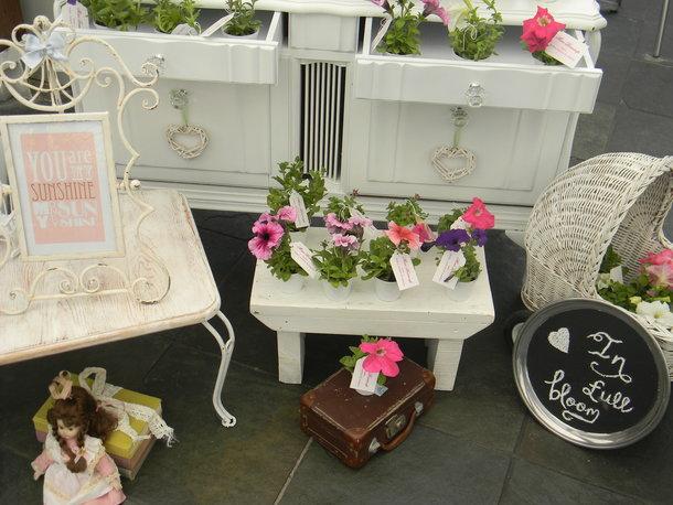 Vintage baby shower – In full bloom