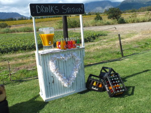 Quirky Parties - Lemonade stand