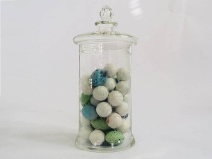 Cylinder candy jar