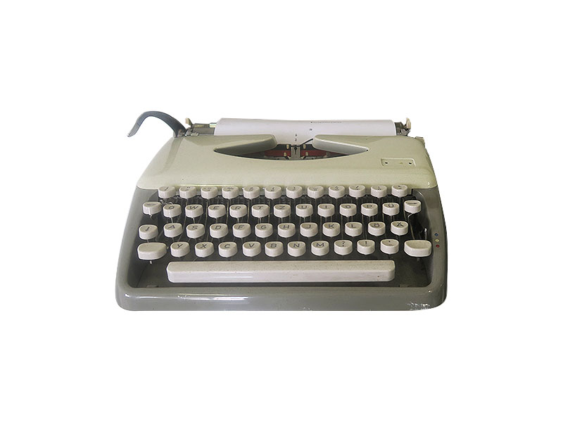 1970 S Vintage Retro Typewriter Quirky Parties