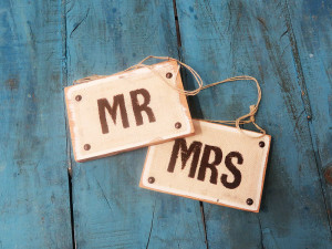 Quirky Parties - Chairback signs - front view 2