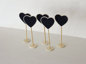 Quirky Parties - Mini heart stands