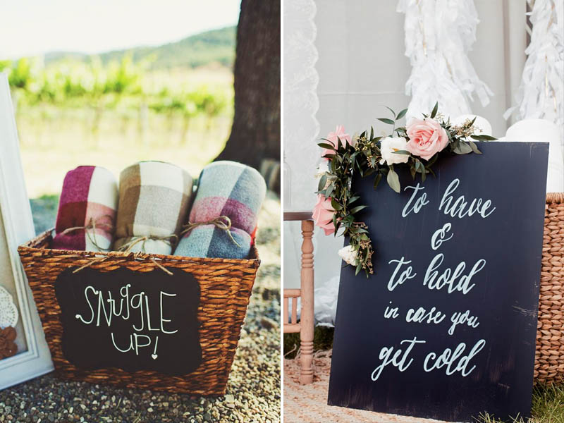 5 Cozy Winter Wedding Ideas