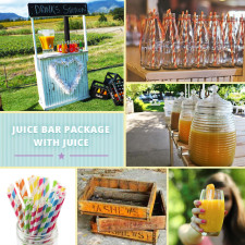 Juice bar package - Quirky Parties