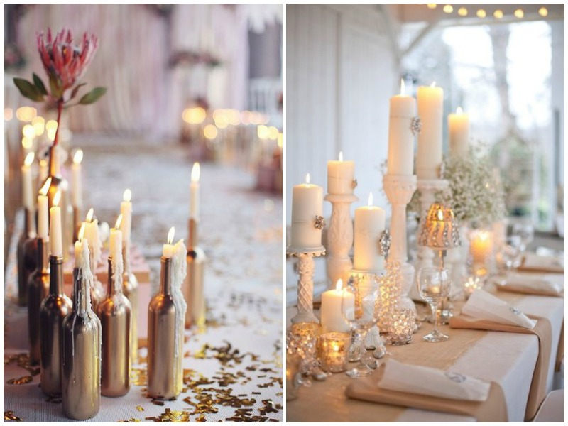 Non-Floral Wedding centrepiece ideas 2016