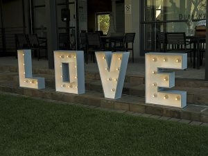 Large love lights