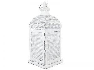 White mesh lantern