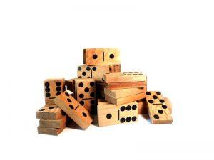 Large dominoes